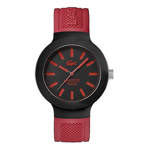 Lacoste Borneo Three-Hand Red Silicone Men's watch #2010814