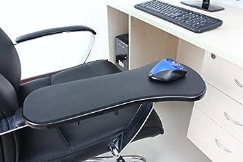 Bandeja de ordenador a prueba de fatiga, soporte de brazo de manos para reposamuñecas para casa y oficina