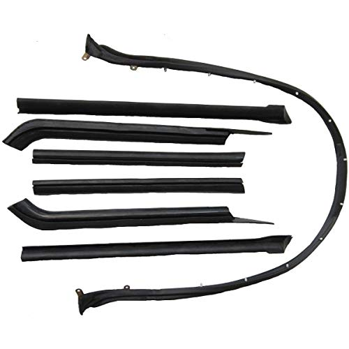 Steele Rubber Products - Convertible Roof Rail Kit - Sold and Priced as a Set - 70-1685-65