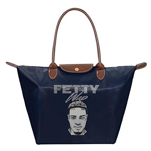 F1&Cany Women's Fetty Wap Eye Handbag Fold Dumplings Type Shoulder Tote Bag