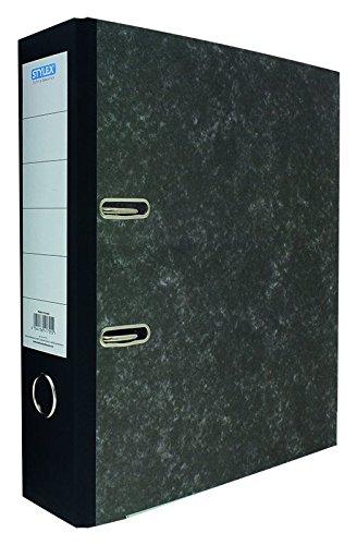 STYLEX 41755 Schlitz-Ordner, DIN A4, 8 cm, wolkenmarmor