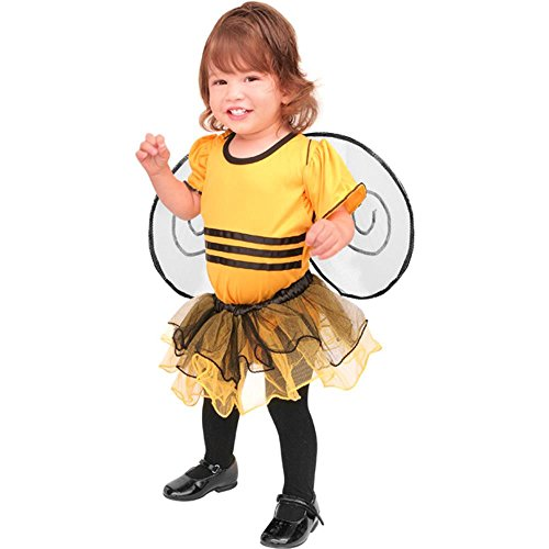 Beautiful Bumble Bee Costumes (Girl's Beautiful Bumble Bee Costume (Size: Medium 4))
