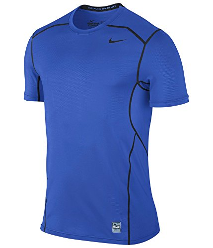 Nike Pro Hypercool 2.0 Fitted Short Sleeve Top (Blue) Small