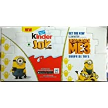 Kinder Joy Egg MINIONS DESPICABLE ME3 Easter Egg Surprise Toy Choose Box of 16 FREE EXPEDITED SHIPPING For USA (Box of 16 Eggs)