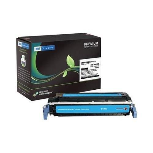 Lj 4600 Cyan Toner - MSE 78215 Compatible Toner - LJ 4600 4650 Cyan Toner OEM# C9721A 8000 Yield (Contains SCS)
