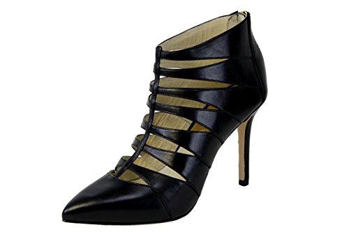 Michael Kors Mavis Back Zip Shootie/Bootie Black Cage Style Dress Shoe Size 5