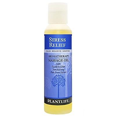 Stress Relief Aromatherapy Massage Oil - 4oz