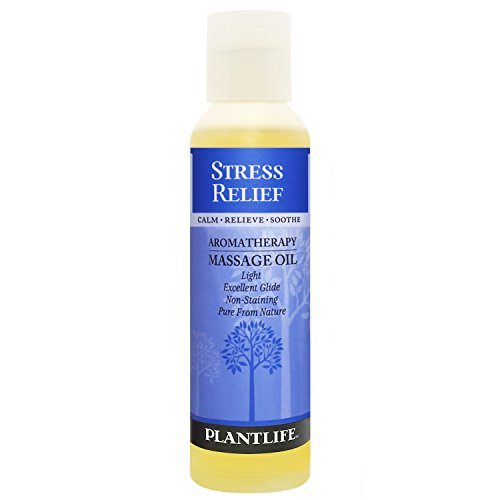 Stress Relief Aromatherapy Massage Oil - 4oz