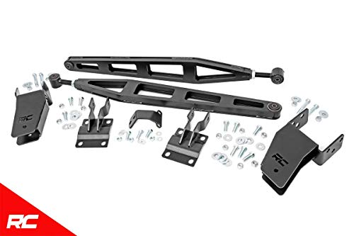 (Rough Country Traction Bar Kit (fits) 2005-2016 Super Duty F250 (F-250) 4WD 51005 Traction Bar Kit Lift)