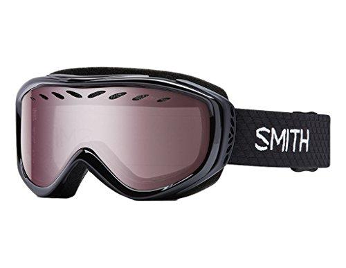 Smith Optics Transit Women's Airflow Series Snow Snowmobile Goggles Eyewear - Black / Ignitor...