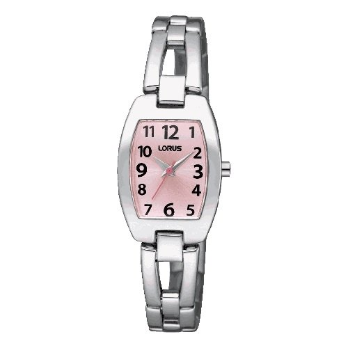 Lorus comunion reloj para Niño Analógico de Cuarzo con brazalete de Acero inoxidable RRS67UX9: Amazon.es: Relojes