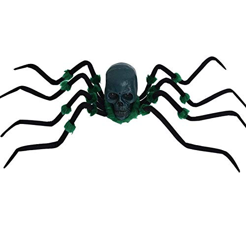 Halloween Decorations Electric Spider Electric Moving Toys with Sound Prank Toy Scary Spiders Creepy Reptile Haunted House Props -