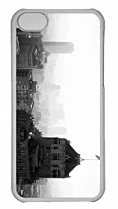 Customized iphone 5C PC Transparent Case - This Place Called San Francisco Personalized Cover