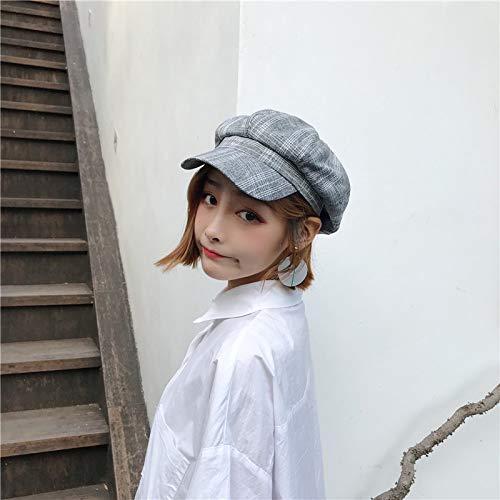 Sombrero Invierno Diseño De Para Cuadros Rosa Gris Gris Dvfgsxxht E Pato Color Con Otoño A Invierno dWgqwvnY