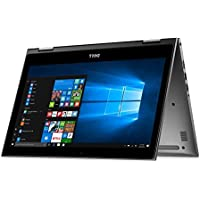 Newest Dell 5000 2-in-1 Convertible Inspiron Flagship High Performance 13.3 inch Full HD Touchscreen Backlit Keyboard Laptop PC, Intel Core i7-6500U Dual-Core, 8GB DDR4, 256GB SSD, Windows 10, Gray