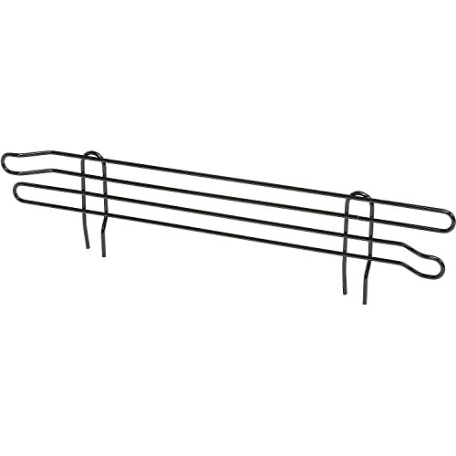 Nexel Wire Shelf Ledge, Black Epoxy Finish, 18
