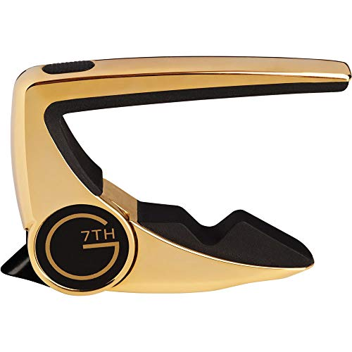 G7th Performance 2 Guitar Capo (Steel String Gold)