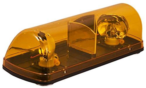Blazer International Trailer & Towing Accessories Blazer C4500AW-4 Mini Revolving Amber Light Bar - 4 Pack ()