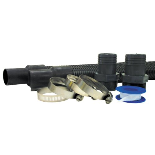 - Hayward EC1155 1-1/2-Inch Suction and Discharge Hose Package