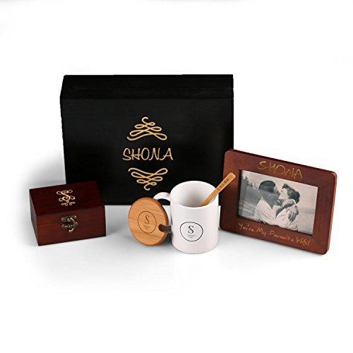 Sharing Memories Gift Set - Picture Frame, Custom Mug and Keepsake Box