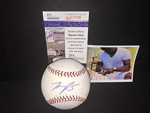 54428b73585 Miguel Sano Minnesota Twins Autographed Signed Baseball JSA COA at ...