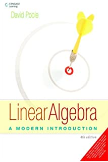 Linear Algebra Poole 4th Edition Pdf
