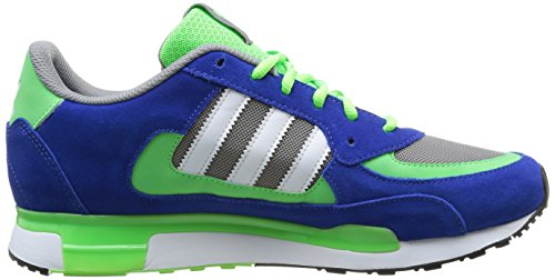 Adidas ZX 850 - Zapatillas de running para mujer Ch Solid Grey / Running White Ftw / Neon Green
