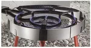 Garcima parabrisas para Gas de acero inoxidable Anillo, multicolor, 1 unidad