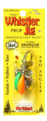Northland Tackle 1/16 Oz. Whistler Jig, Assorted (Northland Fishing)