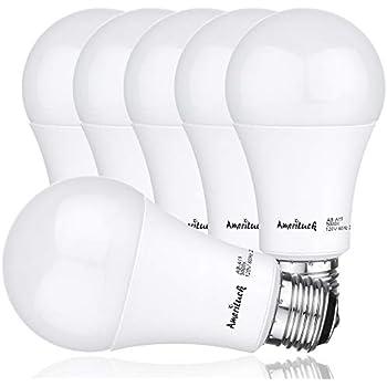 Ameriluck 100w Equivalent Led Light Bulbs A19 15watts