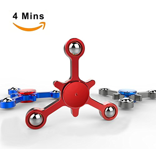 Ideal Package - Titanium Alloy Fidget Spinner Package, Creative Figit Hand Toys For 4-10 Years Old, Cool Ideal Brithday Gifts for Boys, Girls, Teenages, Sisters
