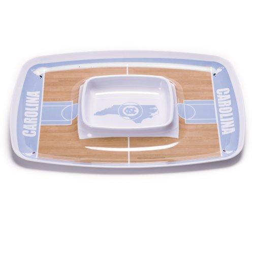 NCAA North Carolina Tar Heels Melamine Chip and Dip (Bsi North Carolina Tar Heels)