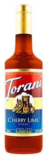 Torani Cherry Lime Syrup, 750 ml by Torani