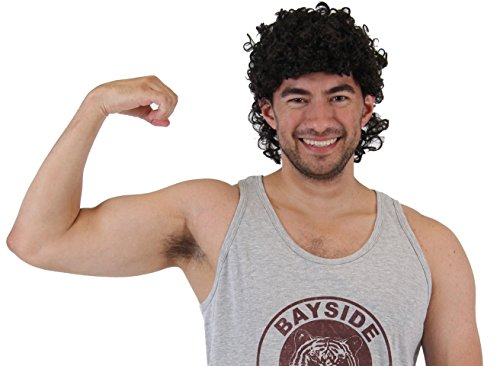 Saved by the Bell AC Slater Costume Wig]()