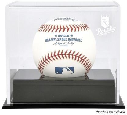 Mounted Memories Kansas City Royals Memorabilia - Kansas City Royals Baseball Cube Logo Display Case