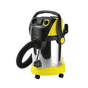 Kärcher WD 5600 MP - Aspirador, 220 - 240 V, 1800 W, 375 x 450 x 650 mm, 9300 g, color negro, plata y amarillo