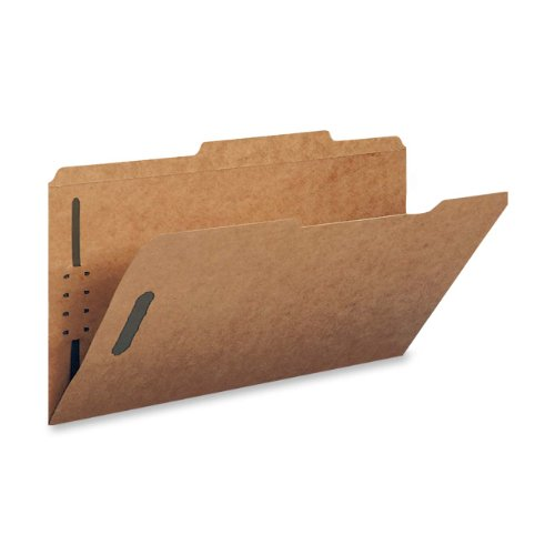 - Smead Fastener File Folder, 2 Fasteners, Reinforced 2/5 -Cut Tab Right of Center Position, Guide Height, Letter Size, Kraft, 50 per Box (14880)