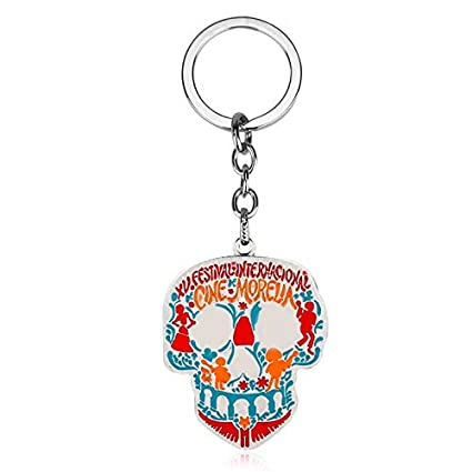 Algol - Movie Coco Skull Skeleton Keychain Film Llavero ...