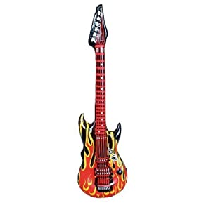 One Inflatable Flame Guitar by FE