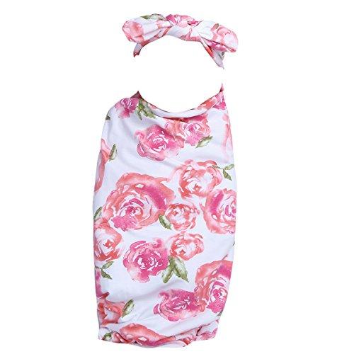 iiniim Newborn Baby Swaddle Wrap Cloth Photography Props Blanket with...