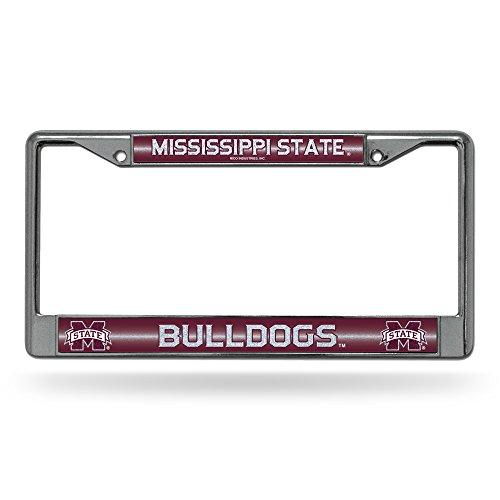 NCAA Mississippi State Bulldogs Bling Chrome Plate Frame