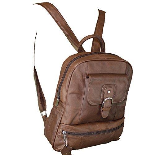 94a4c433c89 Women's Legacy Leather Backpack Handbag Purse Sling Shoulder Bag Brown