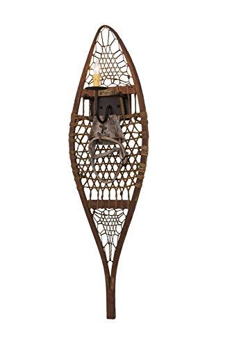 12 in. Alpine Snowshoe Wall Sconce