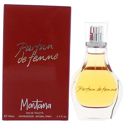 Touch Freesia Eau De Toilette (Montana Parfum De Femme by Montana For Women. Eau De Toilette Spray 3.4-Ounces)