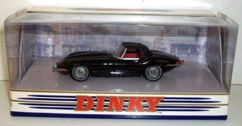 Matchbox the dinky collection black jaguar E type MK 1 1⁄2 1967 car diecast model