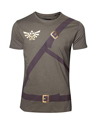 The Legend of Zelda - Link Belt Men's T-Shirt - Maat M