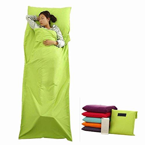 Portable Single//Double Liner Inner Sleeping Bag Travel Host Sheet Sack Camp