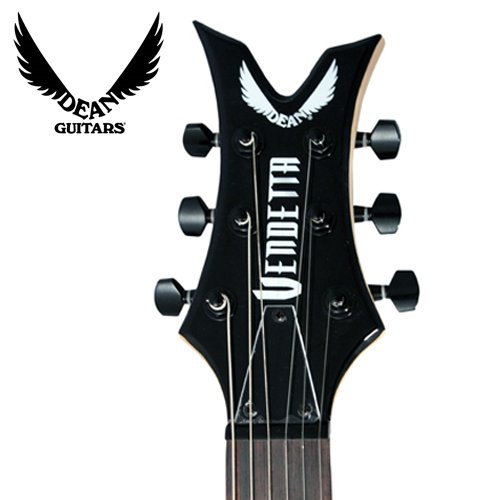 Dean VNXMCBK Vendetta XM Classic Black Electric Guitar with Pick