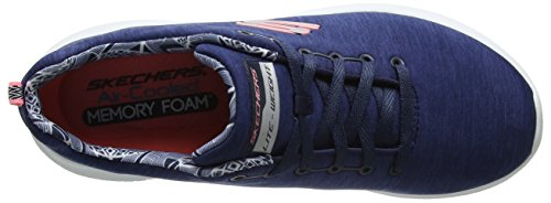Femme Formateurs Navy Flex Ultra First Bleu Choice Skechers ICXgwX