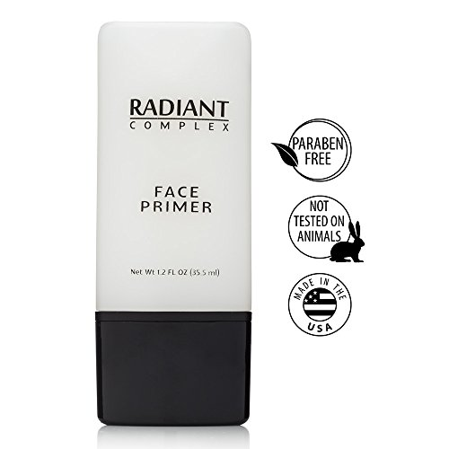 Radiant Complex Face Primer - Flawless Base for Foundation and Makeup -1.2 Fl Oz (Best Natural Primer For Combination Skin)